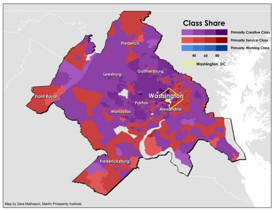 Where Does the Creative Class Reside in DC?: Figure 1