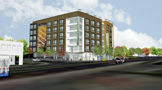 Six-Story Arts Development Coming to Rhode Island Avenue: Figure 1