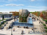 Towers and Fountains: Detailed Renderings of McMillan's Planned Park