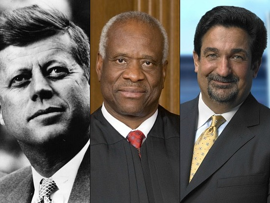 Bigwig Digs: JFK, Clarence Thomas and Ted Leonsis: Figure 1