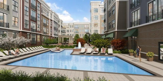 433-Unit Maryland Apartment Project Begins Preleasing, Delivery in July: Figure 1