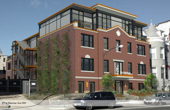20-Unit Columbia Heights Residential Project Expects Mid-2014 Delivery: Figure 1