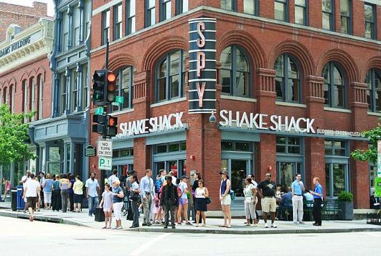 Neighborhood Eats A New Shake Shack And A Presidential Eatery