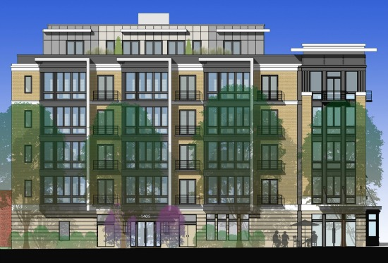 18-Unit Condo Project at 14th and W Gets Green Light: Figure 1