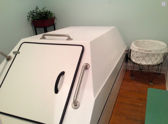 Off the Beaten Turf: The Sensory Deprivation Tank: Figure 1