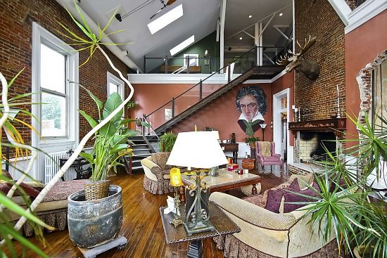 Unique Spaces: The Most Intriguing Loft in DC: Figure 6