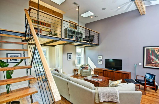 This Week's Find: Warm Wood and a Loft in an Architect's Home: Figure 3
