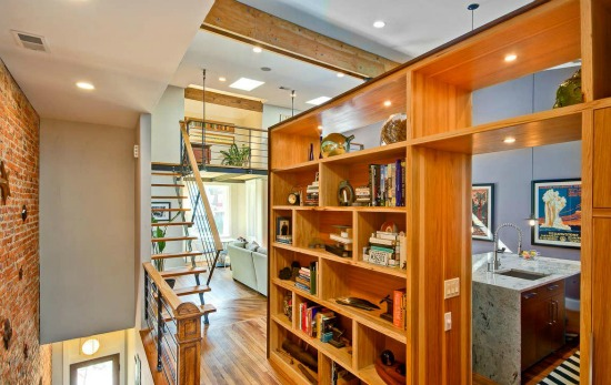 This Week's Find: Warm Wood and a Loft in an Architect's Home: Figure 4