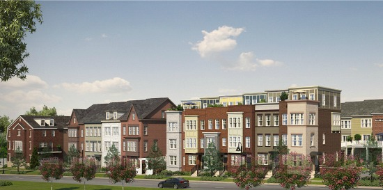 This Weekend: Massive MoCo Project Debuts 5 Model Townhomes: Figure 1