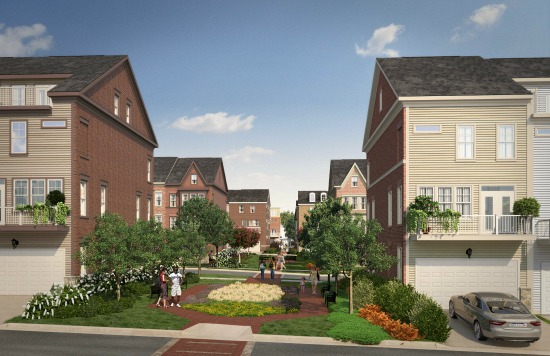 This Weekend: Massive MoCo Project Debuts 5 Model Townhomes: Figure 2