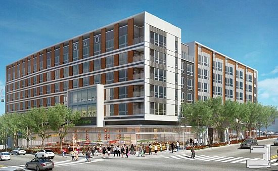 200 Apartments, Specialty Grocery Approved Near Union Market: Figure 1