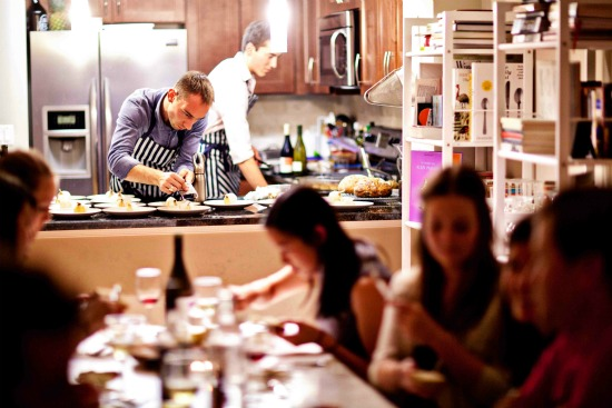 Best Foodie Trend of 2013: The Rise of the Supper Club: Figure 1