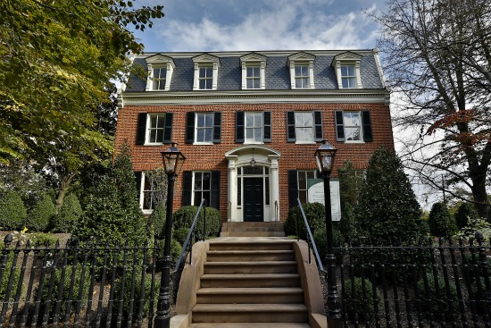Georgetown home sells for 16 1 million highest sale in for Houses for sale near washington dc
