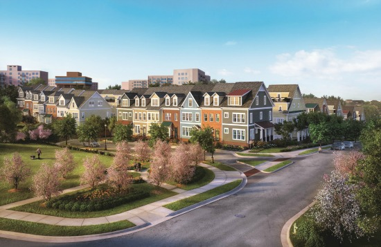 New on the Market: Luxury Townhomes in Downtown Silver Spring: Figure 1