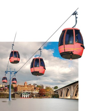 Georgetown Gondola Study Moves Forward with Inclusion in Council's Budget: Figure 1