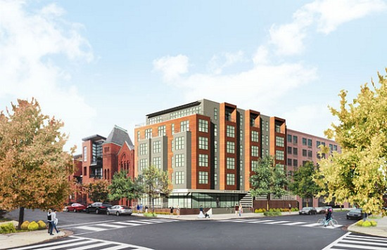 40-Unit U Street Condo Project Will Incorporate Old Church: Figure 1