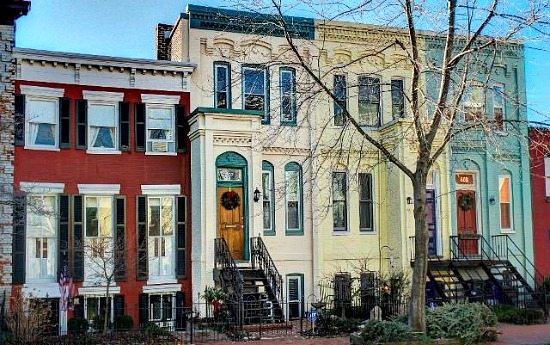 Best New Listings Two District Rowhouses And A Takoma