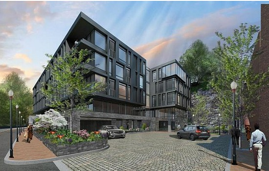 Old Georgetown Board Doesn't Support Design for Exxon Condo Project: Figure 1