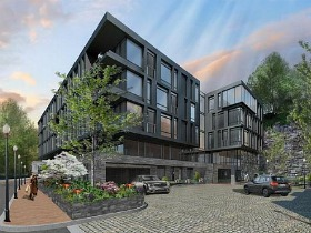 Old Georgetown Board Doesn't Support Design for Exxon Condo Project