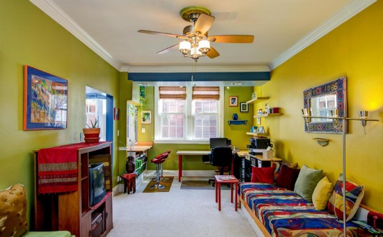 This Week's Find: The Hill's Most Colorful One-Bedroom: Figure 2