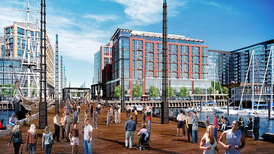 The Wharf Will Begin Construction in March: Figure 1