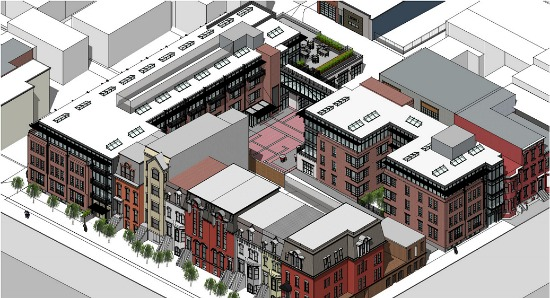 Preliminary Plans Call For 125 Residences in Shaw's Blagden Alley: Figure 3