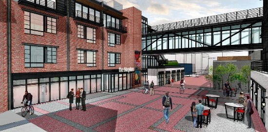 Preliminary Plans Call For 125 Residences in Shaw's Blagden Alley: Figure 1