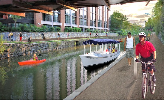 What A Reinvented Georgetown Canal Could Look Like: Figure 2