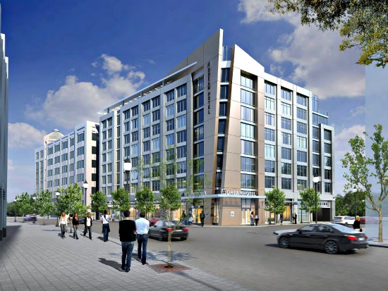 160-Room Hotel Approved For Courthouse Metro: Figure 1