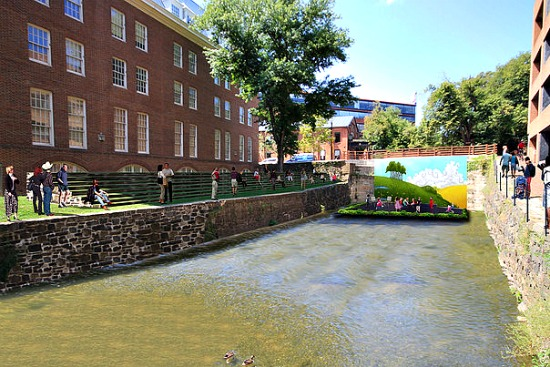What A Reinvented Georgetown Canal Could Look Like: Figure 3