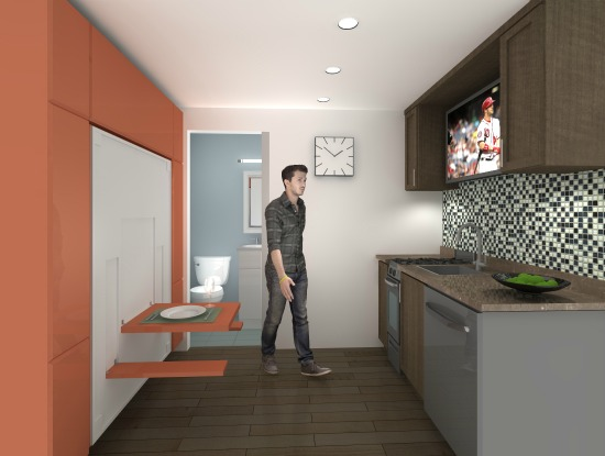 62 Square Feet: Developer Proposes DC's Smallest Apartments: Figure 1