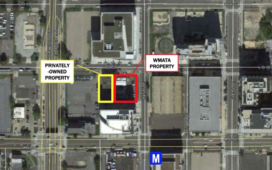 The 3 Proposals for WMATA's Navy Yard Site: Figure 1