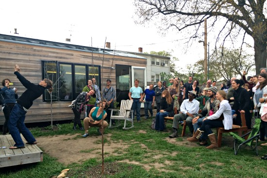 84 Square Feet: Tiny House Star Kicks Off Book Tour at Boneyard Studios: Figure 1