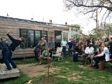 84 Square Feet: Tiny House Star Kicks Off Book Tour at Boneyard Studios