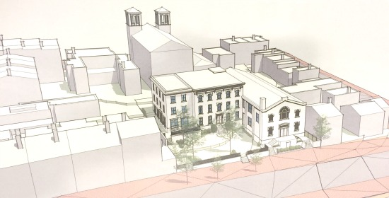 Townhome Proposal For Georgetown Church Opposed by ANC: Figure 1