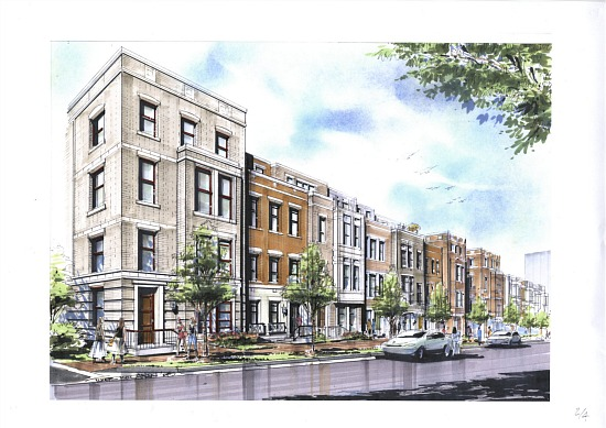 25 Single-Family Townhomes Coming to Rosslyn: Figure 1