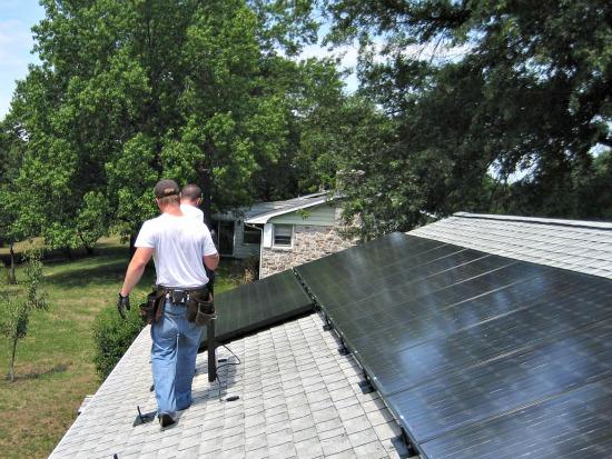 The Dawn of the Solar Panel Loan: Figure 1