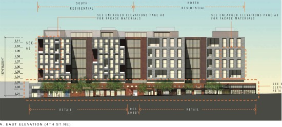 500 Units and 40,000 Square Feet of Retail Proposed for Union Market: Figure 5
