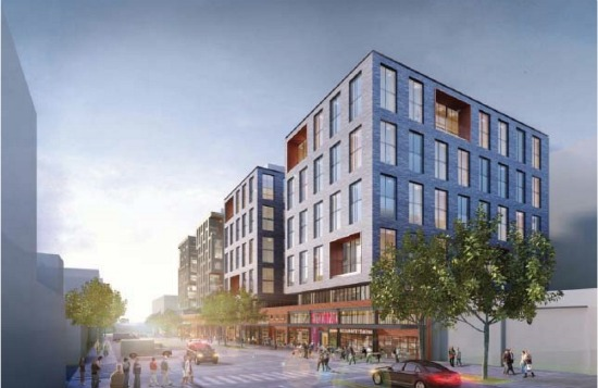 500 Units and 40,000 Square Feet of Retail Proposed for Union Market: Figure 1