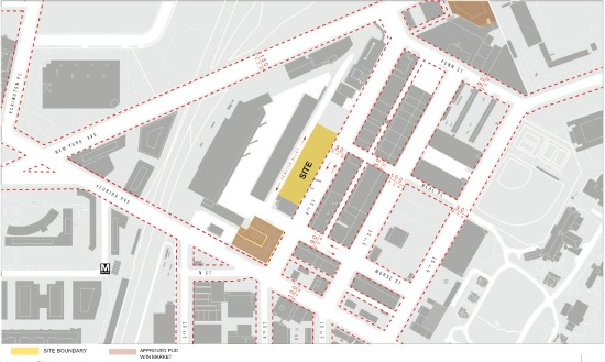 union market dc map 500 Units And 40 000 Square Feet Of Retail Proposed For Union Market