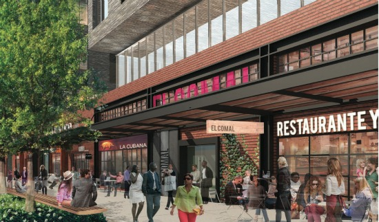 500 Units and 40,000 Square Feet of Retail Proposed for Union Market: Figure 3