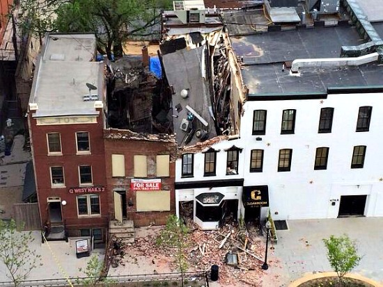 How to Avoid a Rowhouse Collapse: Figure 1