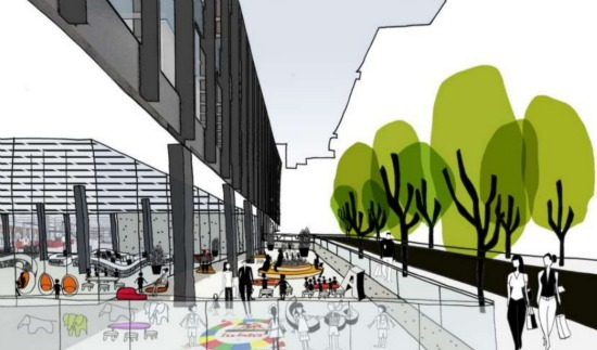 Update: The MLK Library Redesign May Have Residences: Figure 4
