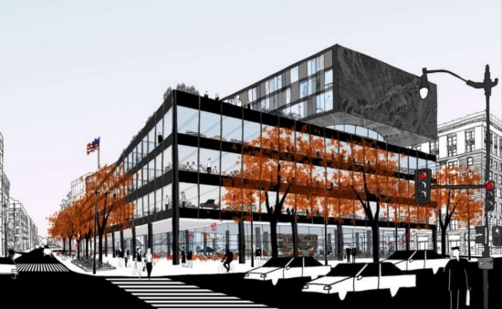 Update: The MLK Library Redesign May Have Residences: Figure 1