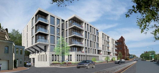 21 Spacious Units at Key Bridge: The New Plans for the Georgetown Exxon Site: Figure 4