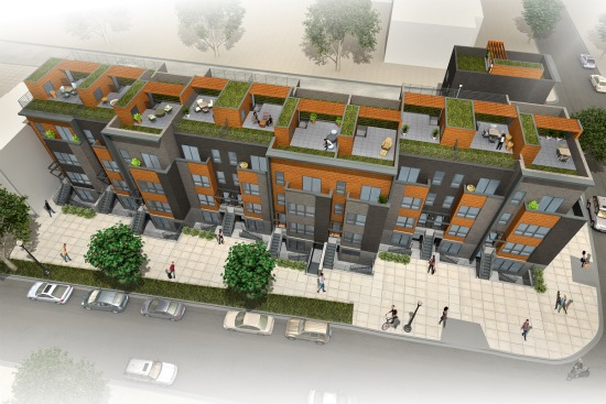 New Look For 22-Unit Brookland Project: Figure 1