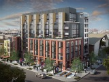 Details and Renderings of the Four Proposals for 8th and O Street