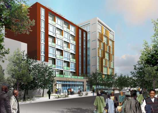 Details and Renderings of the Four Proposals for 8th and O Street: Figure 3