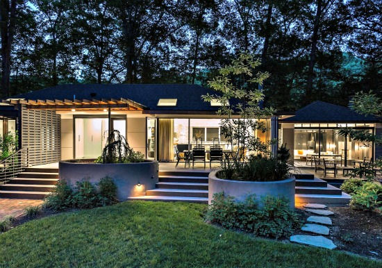 Wildcathollow36 further Split Level House By Qb Design further A Home With A 16 Car Garage 04 besides The Glass Pavilion 01 1 as well Inside House And Outside House 10. on mid century modern house plans for sale