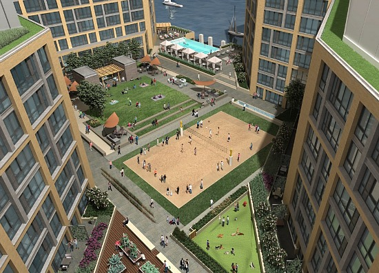 New Conceptual Renderings for Parcel 2 At The Wharf: Figure 4